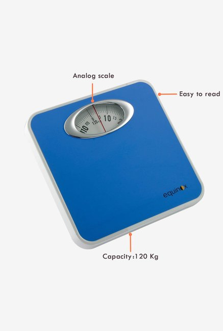 Equinox EQBR-9015 Analog Weighing Scale Blue