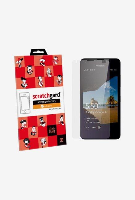 ScratchGard Microsoft Lumia 550 Anti Glare Screen Protector