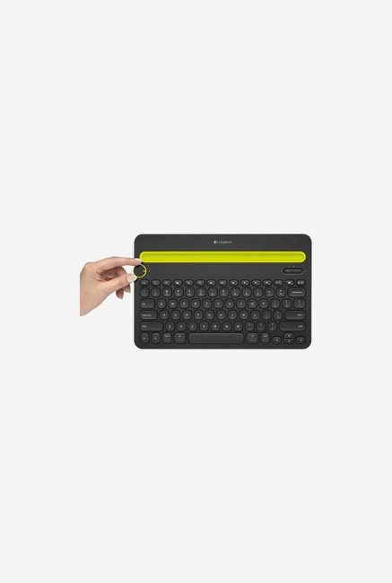 Logitech K480 Wireless Keyboard  Black