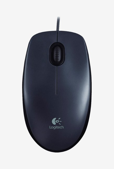 Logitech M90 USB 2.0 Mouse (Black)