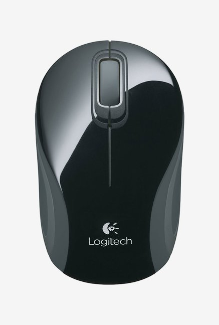 Logitech M187 Mini Wireless Mouse  Black  Logitech Electronics TATA CLIQ