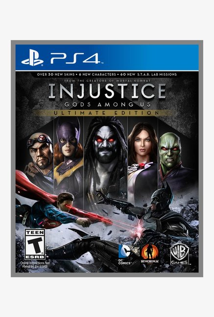 Warner Brothers Injustice: Gods Among Us Ultimate Ed.(PS4)