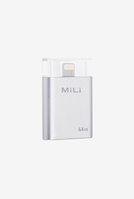 MiLi HI-D91 64 GB Pendrive for iDevice Silver