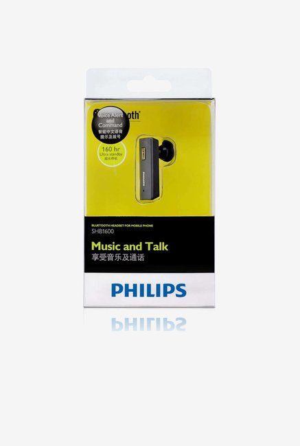 Philips SHB1600/BK Bluetooth Headset Silver