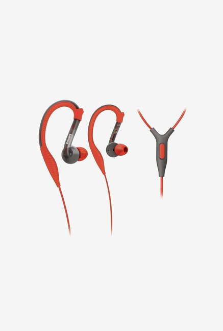 Philips SHQ3205/10 In the Ear Headphone Orange and Grey