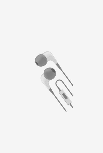 Cygnett CY1722HEWIR In the Ear Headphone White and Grey