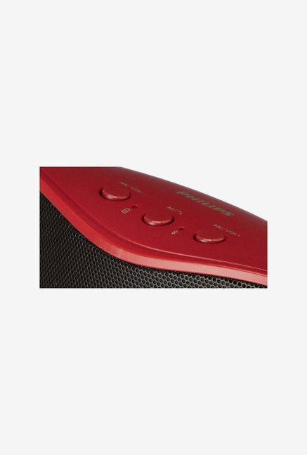 Philips BT4200/94 Bluetooth Speaker Red and Black