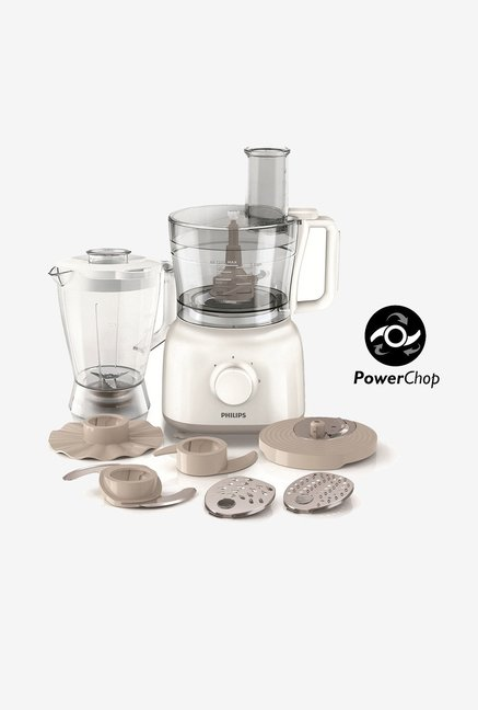 Philips Daily Collection HR7628/00 650 W Food Processor (White)