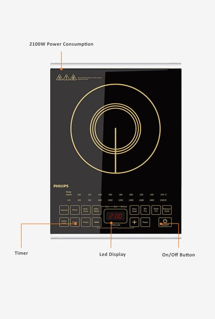 Philips HD4938/00 Induction Cooktop