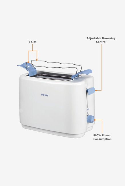 Philips HD4823/28 Pop-up Toaster White