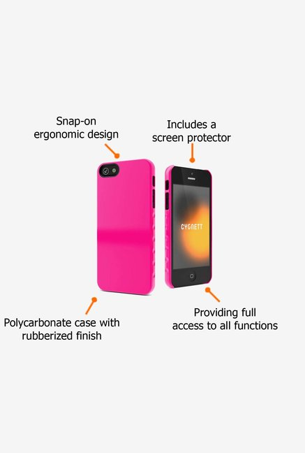 Cygnett CY0833CPAEG iPhone 5 Back Case Pink