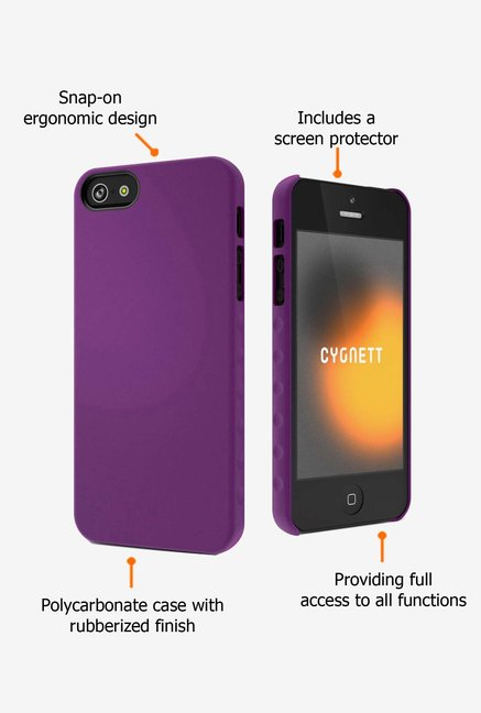 Cygnett CY0830CPAEG iPhone 5 Back Case Green