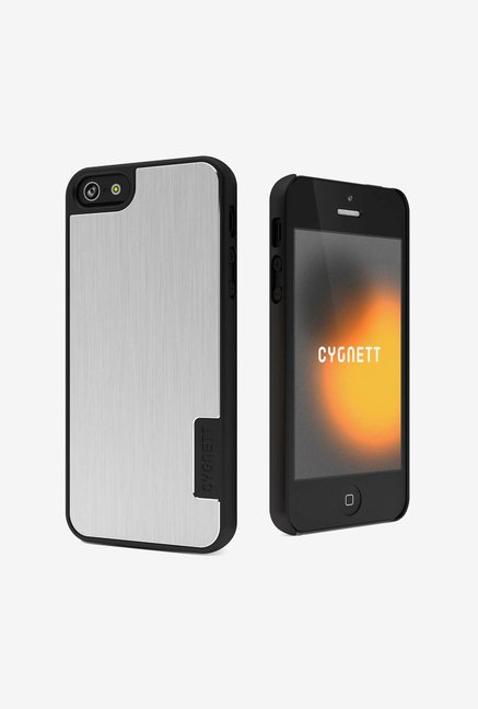 Cygnett CY0859CPURB iPhone 5 Back Case Silver