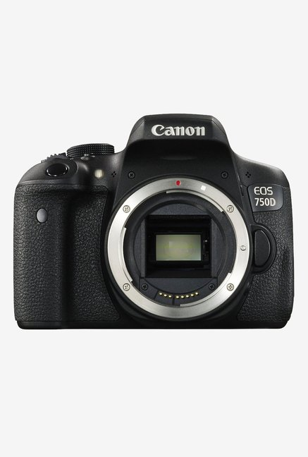 Canon EOS 750D DSLR Camera (Body) Black