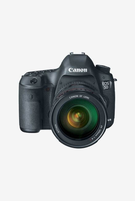 Canon EOS 5D Mark III DSLR Camera with Lens Black