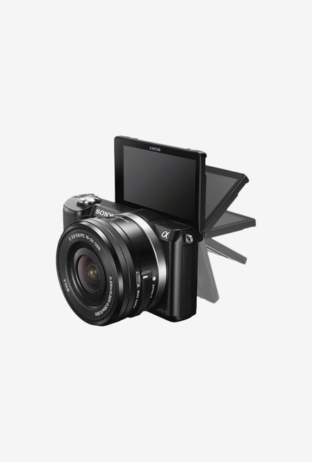 Sony ILCE-5000Y/B 20.1 MP DSLR Camera Black
