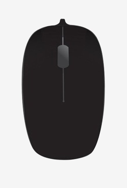 Portronics Hanger POR 287 Wired Optical Mouse Black & Grey