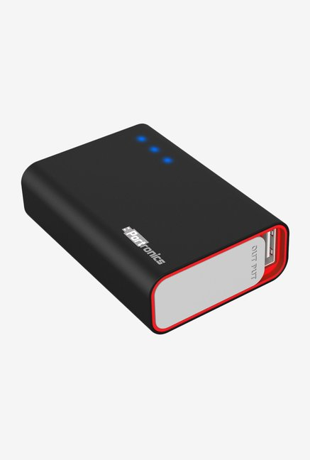 Portronics Charge One POR 310 5200 mAh Power Bank Black
