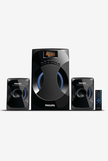 Philips 2.1 Channel IN MMS4545B94 Bluetooth Speakers Black