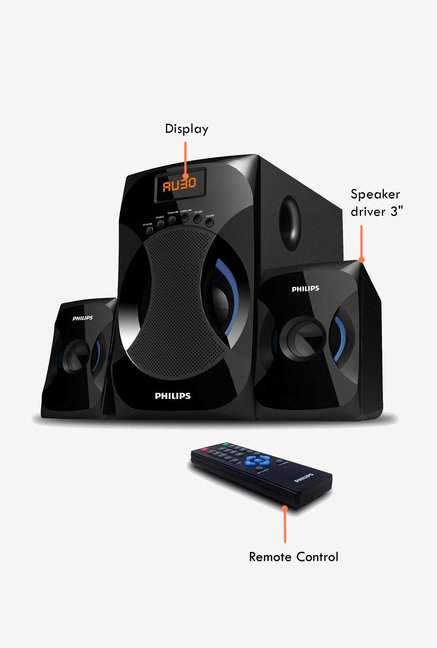 Philips 2.1 Speaker MMS4545B(Bluetooth)