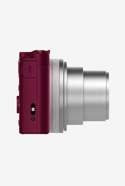 Sony Cybershot DSC-WX500/R 18.2 MP Camera Red