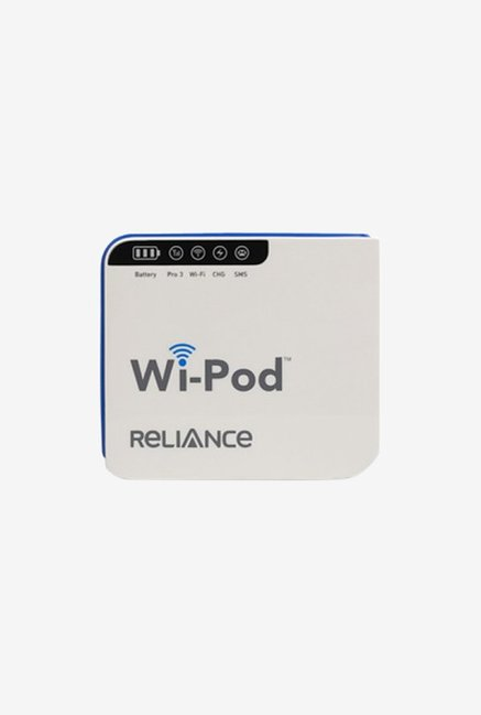 Buy Reliance Haier M1 Wipod with Battery (White) offering a 14 7
