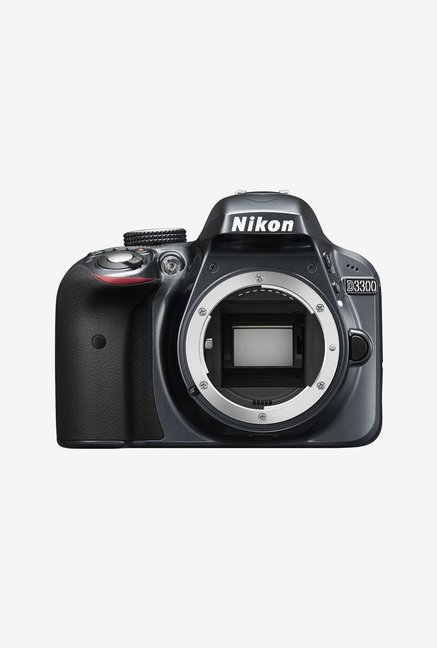 Nikon D3300 DSLR  Body  Black