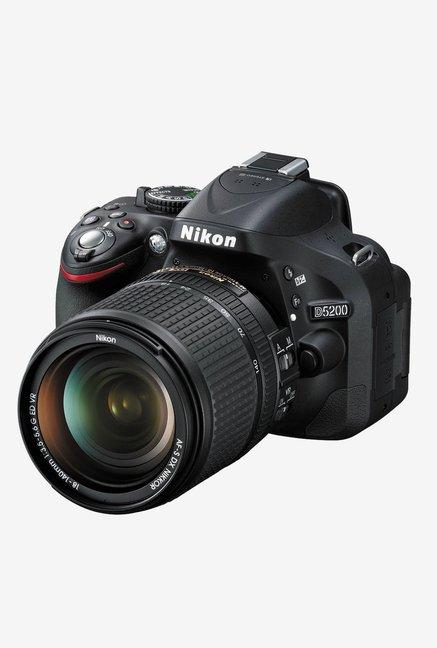 Nikon D5200 with  AF S 18 140mmLens  DSLR Camera  Black