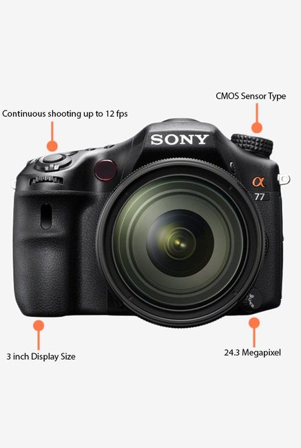 Sony 16-50mm A77 DSLR with Lens Black