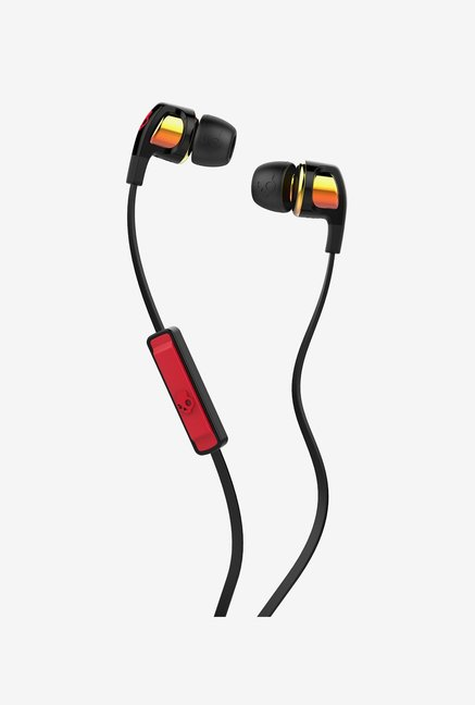 Skullcandy Smokin Buds 2.0 S2Pggy 392 In Wired Earphones With Mic  Orange