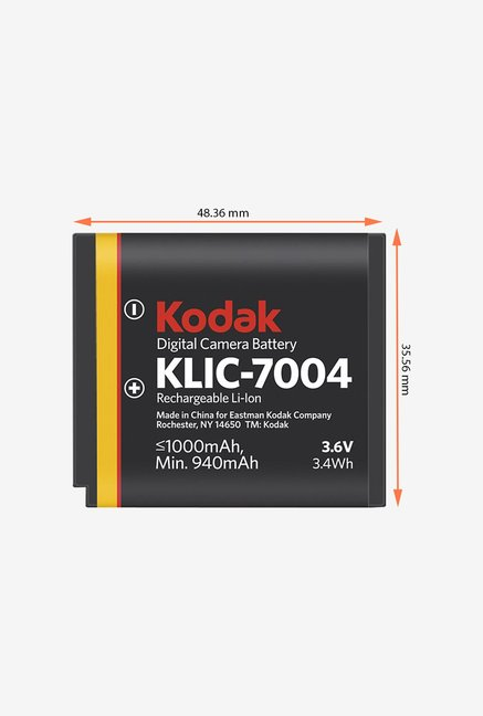 Digitek Kodak 7004 Rechargeable Battery White