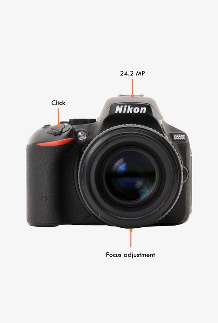 Nikon D5500 24.2MP DSLR Camera Black