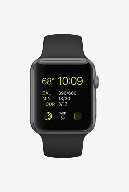 a8f1a0ba6 Buy Apple Watch Series 1 Smartwatch (Grey Strap, 42mm) Online at ...