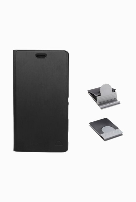 Stuffcool CRSYM2 Flip Cover for Sony Xperia M2 Dual Black