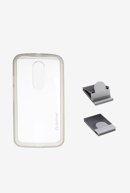 Stuffcool MCMTG2 Back Case for Moto G2 Clear