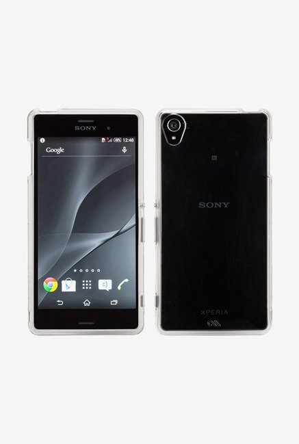 Case-Mate CM031347 Back Case for Sony Xperia Z3 Clear