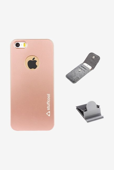 Stuffcool FLIP5S Back Case for Apple iPhone 5/5s Gold