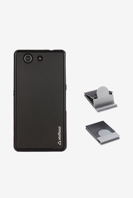 new arrival 70a23 f87ba Buy Stuffcool LSSYD5503 Back Case for Sony Xperia Z3 Black at ...