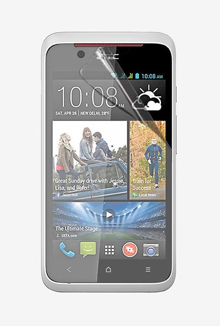 Stuffcool Crystal Clear Screen Protector for HTC Desire 210