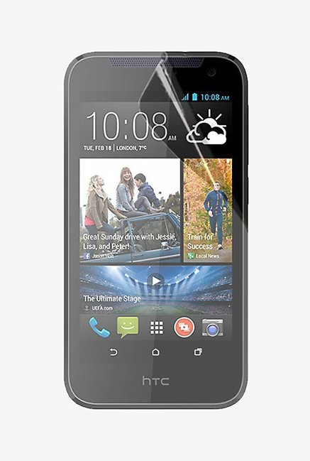 Stuffcool Crystal Clear Screen Protector for HTC Desire 310