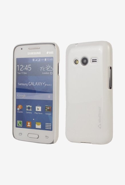 Stuffcool ALMSG3313 Back Case for Samsung GalaxyS Duos White