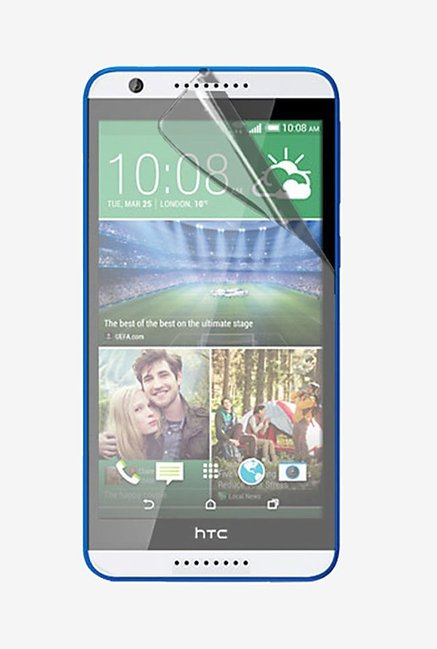Stuffcool Crystal Clear Screen Protector for HTC Desire 820