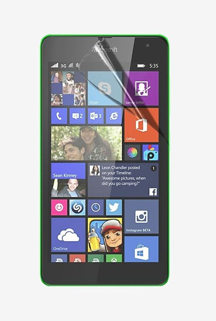 Stuffcool Crystal Clear Screen Protector for Lumia 535