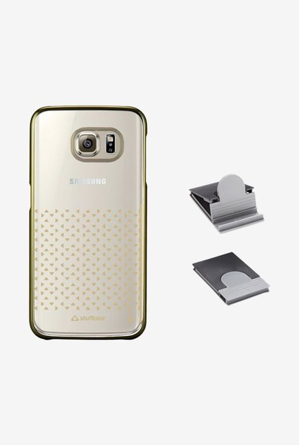 Stuffcool AUMTSGS6EDGE Back Case for Galaxy S6 Edge Gold