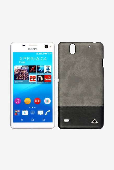 Stuffcool VGSYC4 Back Case for Sony Xperia C4 Black
