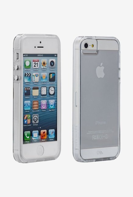 Case-Mate CM030090 Back Case for Apple iPhone 5/5s Clear