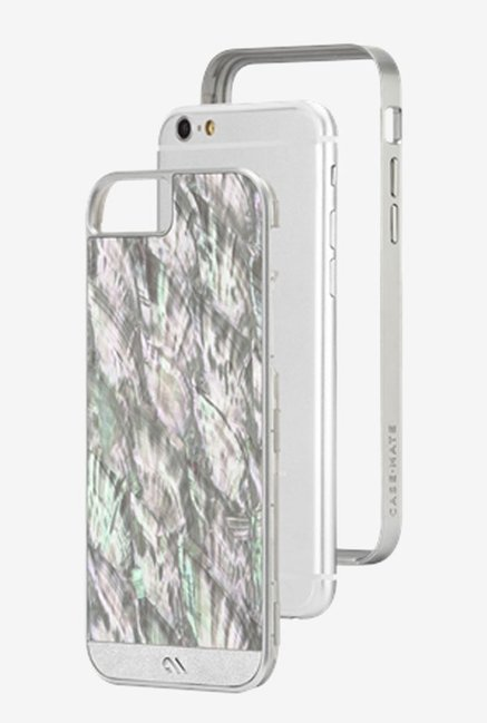 Case-Mate CM031459 Back Case for Apple iPhone 6 Silver