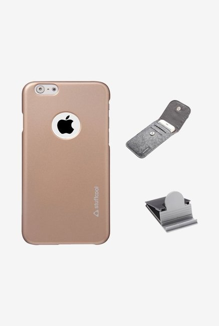 Stuffcool EMIP655 Back Case for Apple iPhone 6+ Gold
