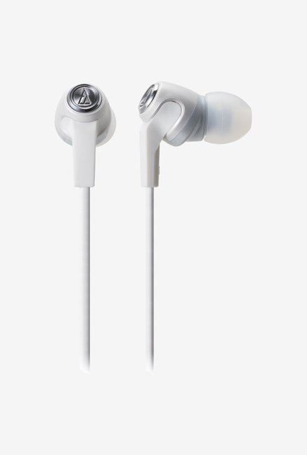 Audio-Technica CK323m In The Ear Headphones White