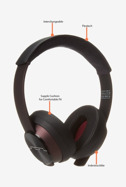 Sol Republic Master Tracks XC Headphones Maroon